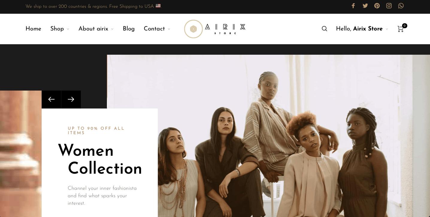 Airix Store